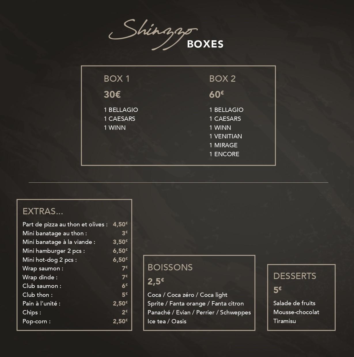 Boxes Shinzzo